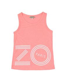 Kenzo Kids Girls Pink Large Logo Vest