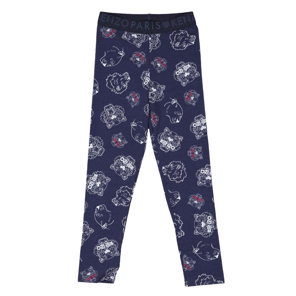 cdad48141b7df Kenzo Kids Tiger & Lion Leggings   Oxygen Clothing