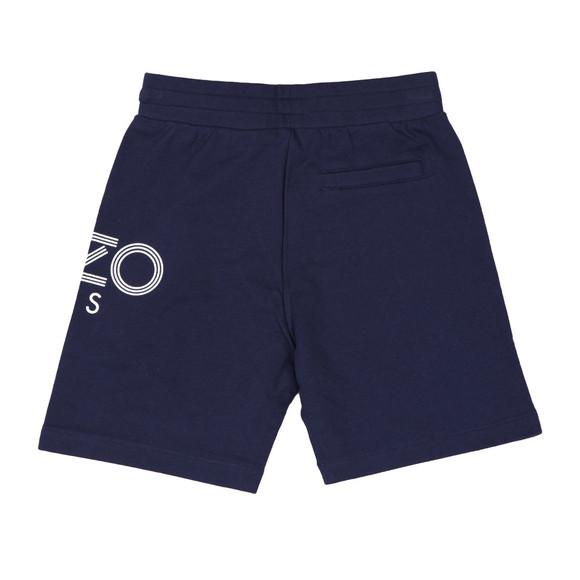 Kenzo Kids Boys Blue Side Logo Sweat Shorts main image