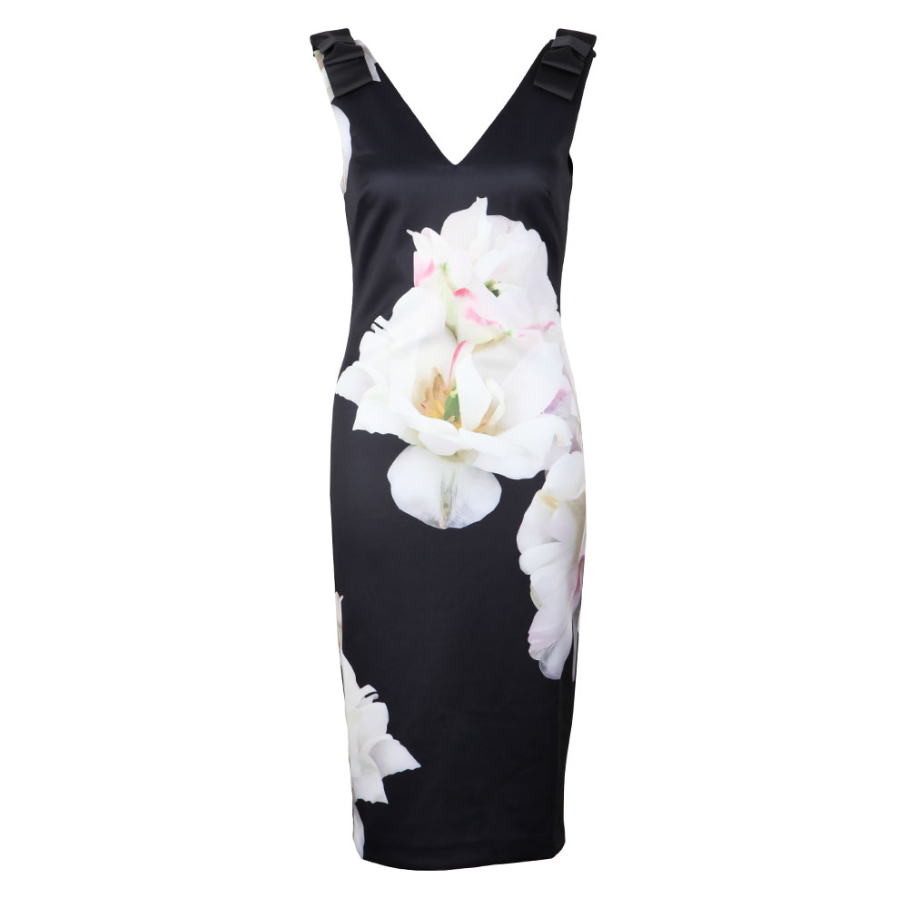 255fcdad1a6 Ted Baker Soleia Gardenia Bow Shoulder Bodycon Dress