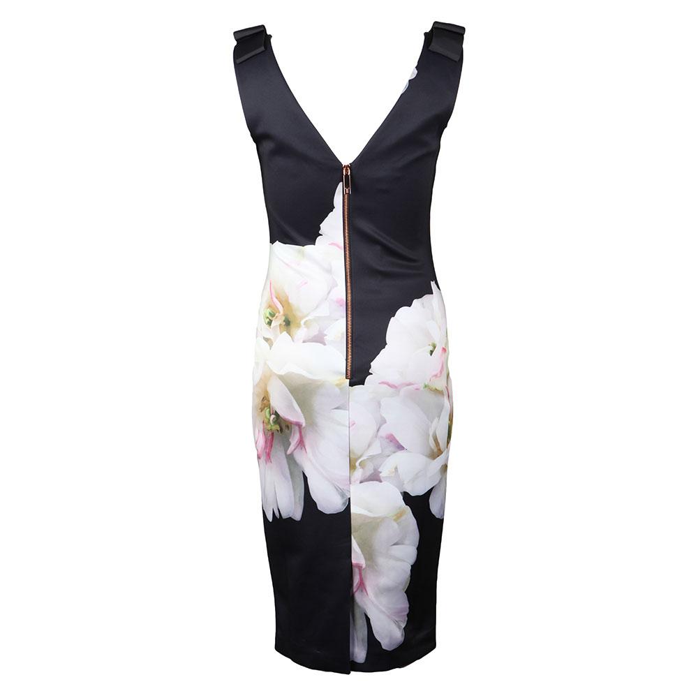 Soleia Gardenia Bow Shoulder Bodycon Dress main image
