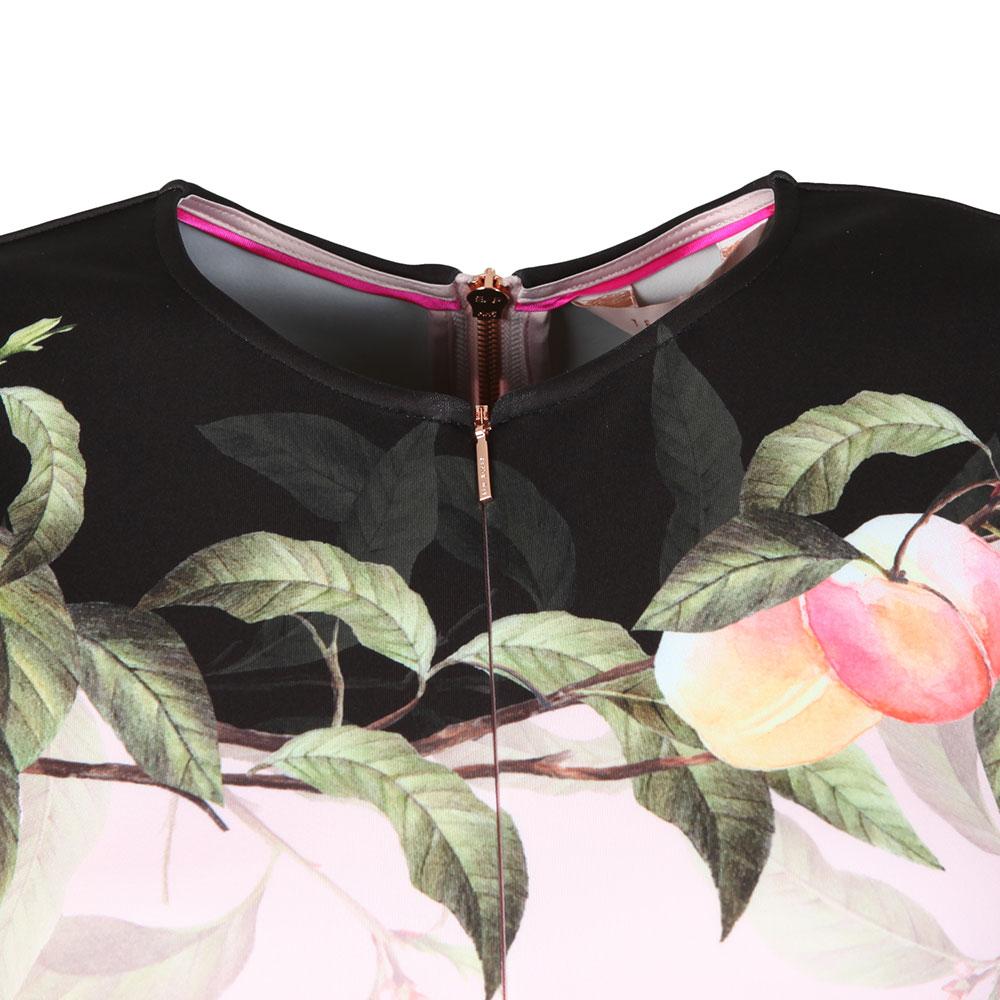 Antana Peach Blossom Jersey Skater Dress main image