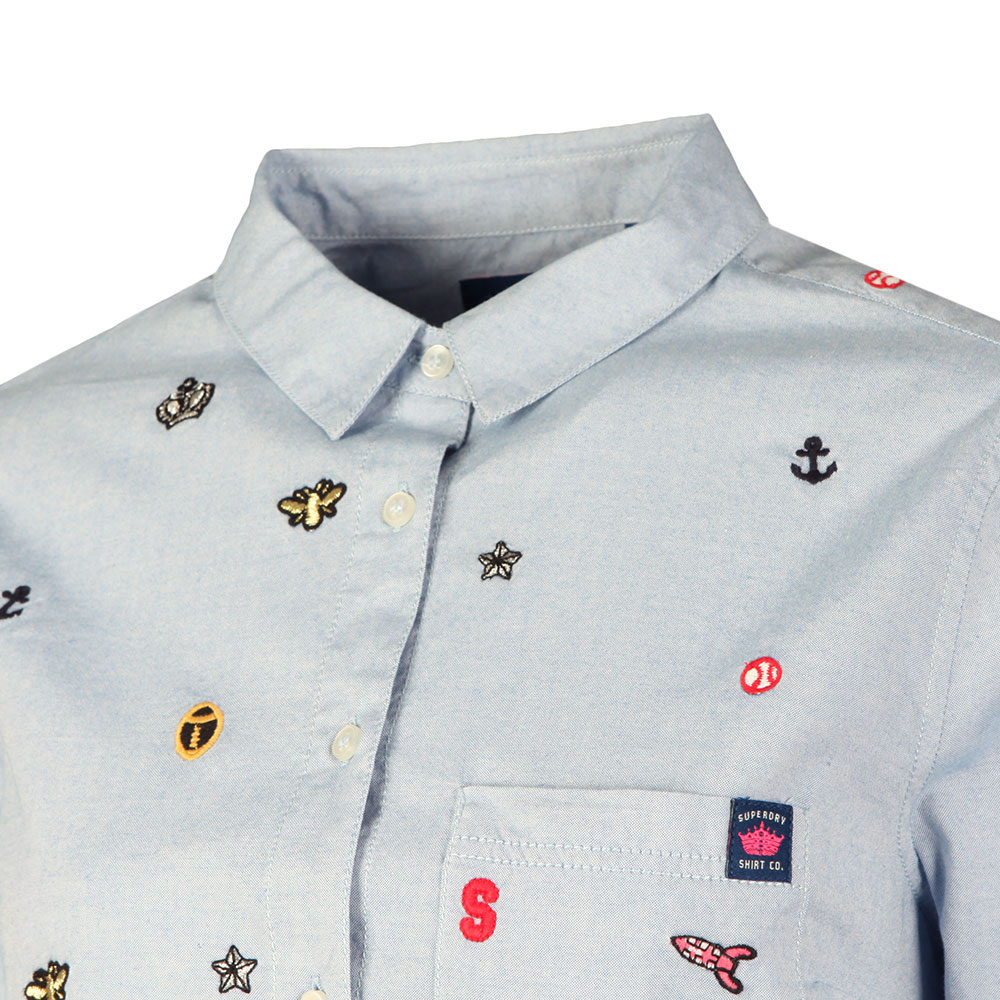Madison Embroidered Shirt main image