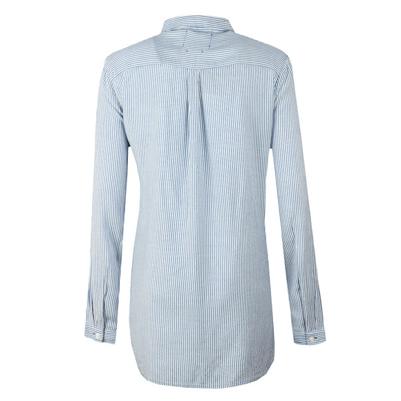 Superdry Womens Blue Frankie Shirt main image