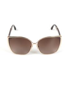 Jimmy Choo Womens Pink Maty Sunglasses