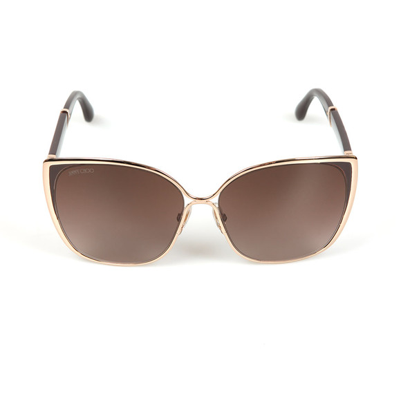 Jimmy Choo Womens Pink Maty Sunglasses main image