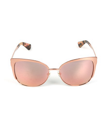 Kate Spade Womens Pink Genice Sunglasses