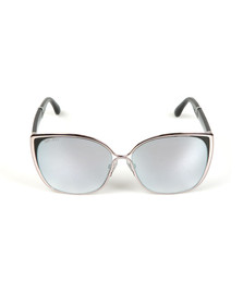 Jimmy Choo Womens Silver Maty Sunglasses