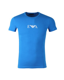Emporio Armani Mens Blue S/S Crew Neck T-Shirt