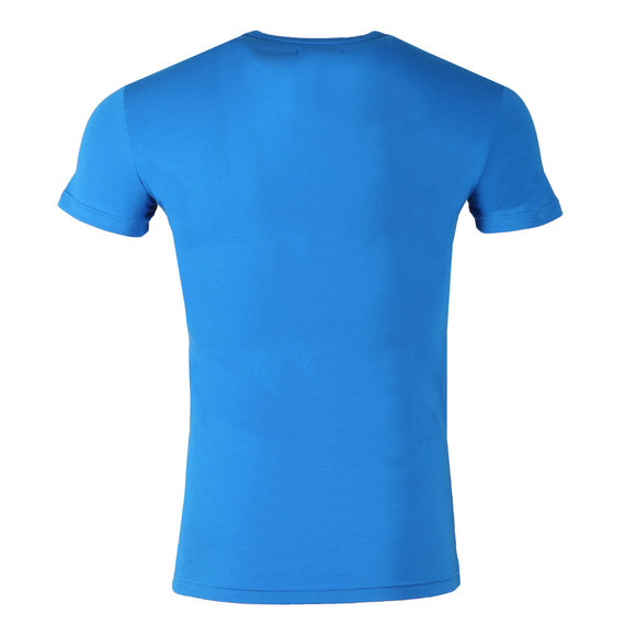 Emporio Armani Mens Blue S/S Crew Neck T-Shirt main image