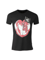 Classic Heart World Print T Shirt