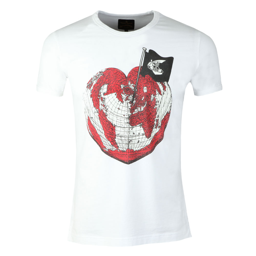 Low Price Sale Blue Heart World Unisex T-shirt Vivienne Westwood Best Supplier Sale Sast ZeihRCiaGW