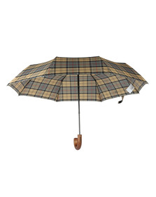 Barbour Lifestyle Mens Grey Telescopic Umbrella