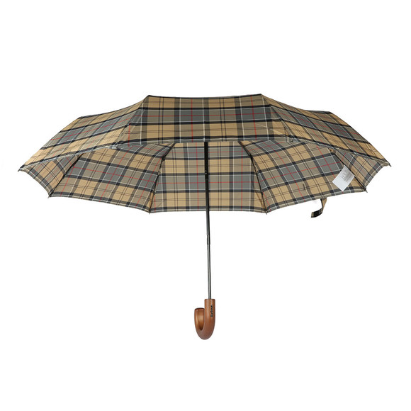 Barbour Lifestyle Mens Grey Telescopic Umbrella main image