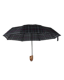 Barbour Lifestyle Mens Blue Telescopic Umbrella