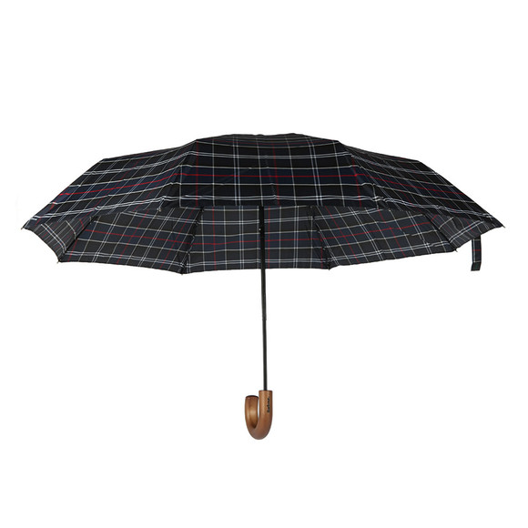 Barbour Lifestyle Mens Blue Telescopic Umbrella main image