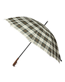 Barbour Lifestyle Unisex Green Tartan Golf Umbrella