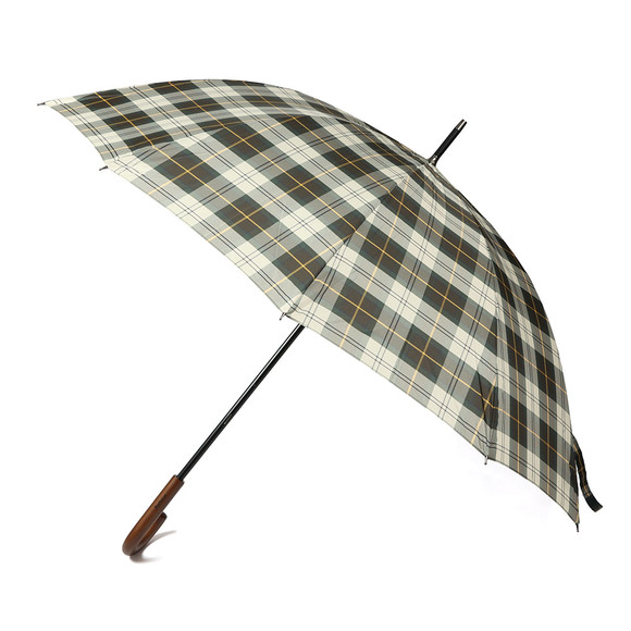 Barbour Lifestyle Unisex Green Tartan Golf Umbrella main image