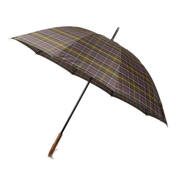 Barbour Lifestyle Unisex Red Tartan Golf Umbrella main image