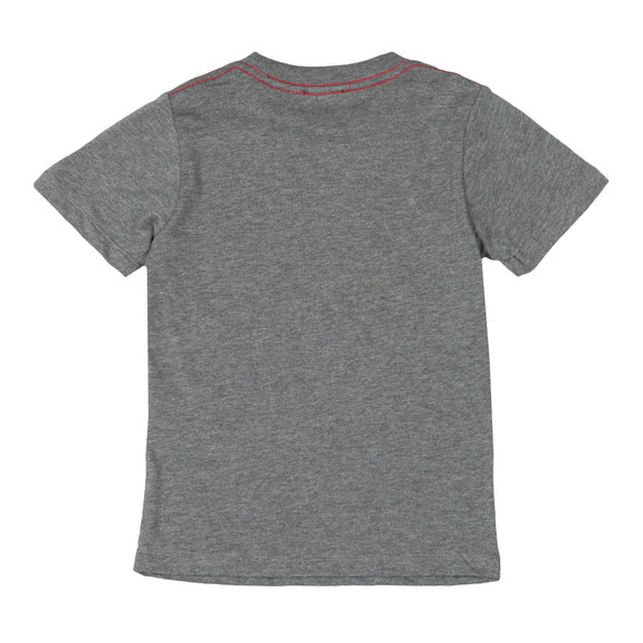 Diesel Boys Grey Man T Shirt