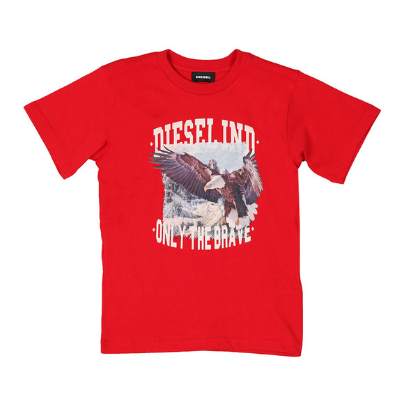 Diesel Boys Red Toshe T Shirt main image