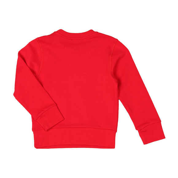 Diesel Boys Red Man Sweatshirt main image