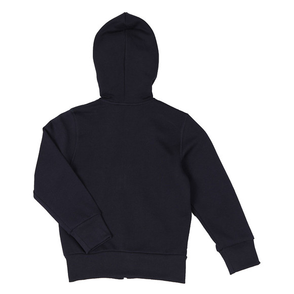 Diesel Boys Blue Large Logo Full Zip Hoody main image