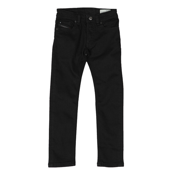 Diesel Boys Black Boys Sleenker Slim Jean