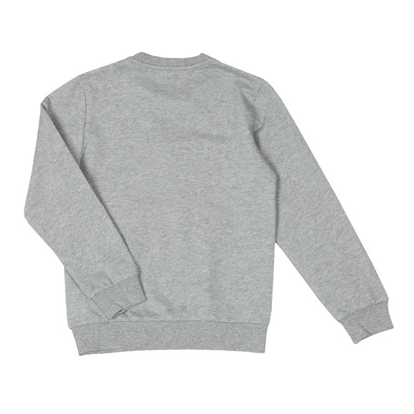 EA7 Emporio Armani Boys Grey Crew Neck Sweatshirt main image