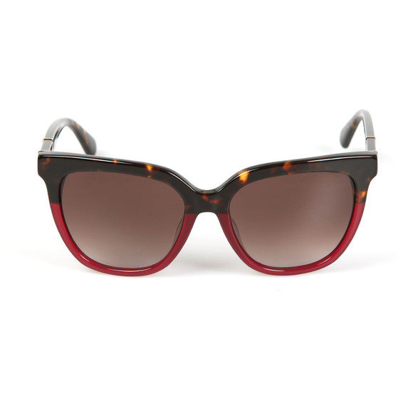 Kate Spade Womens Red Kahli Sunglasses