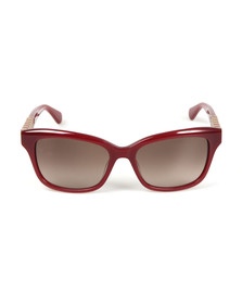 Kate Spade Womens Red Johanna Sunglasses