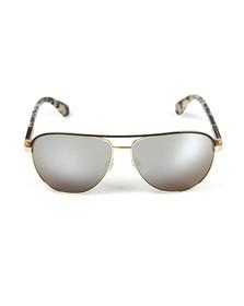 Kate Spade Womens Gold Emilyann Sunglasses