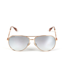 Jimmy Choo Womens Gold Jewly Sunglasses