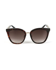 Jimmy Choo Womens Brown Fabry Sunglasses