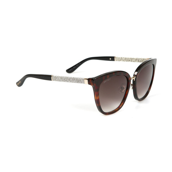 Jimmy Choo Womens Brown Fabry Sunglasses main image
