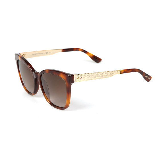 Jimmy Choo Womens Brown Junia Sunglasses main image