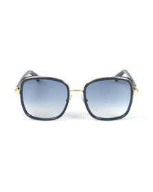Jimmy Choo Womens Blue Elva Sunglasses