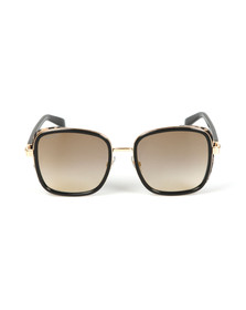 Jimmy Choo Womens Black Elva Sunglasses