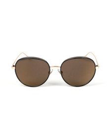 Jimmy Choo Womens Black Ello Sunglasses