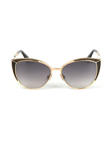 Jimmy Choo Womens Black Domi Sunglasses