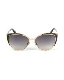 Jimmy Choo Womens Black Domi Sunglasses