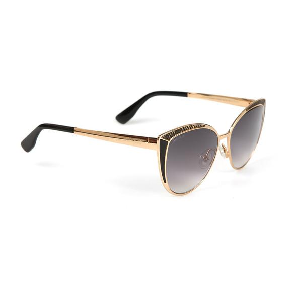 Jimmy Choo Womens Black Domi Sunglasses main image