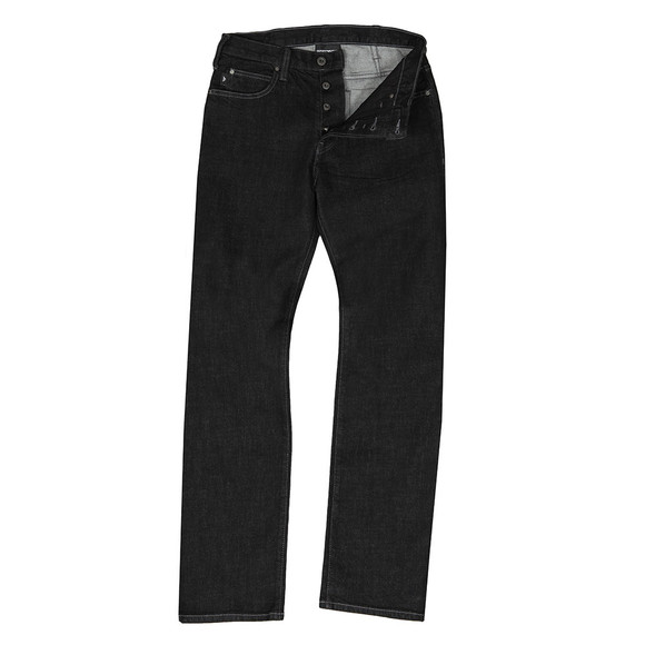 Emporio Armani Mens Black J21 Regular Fit Jean main image