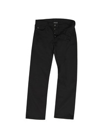 Emporio Armani Mens Black J21 Regular Fit Jean