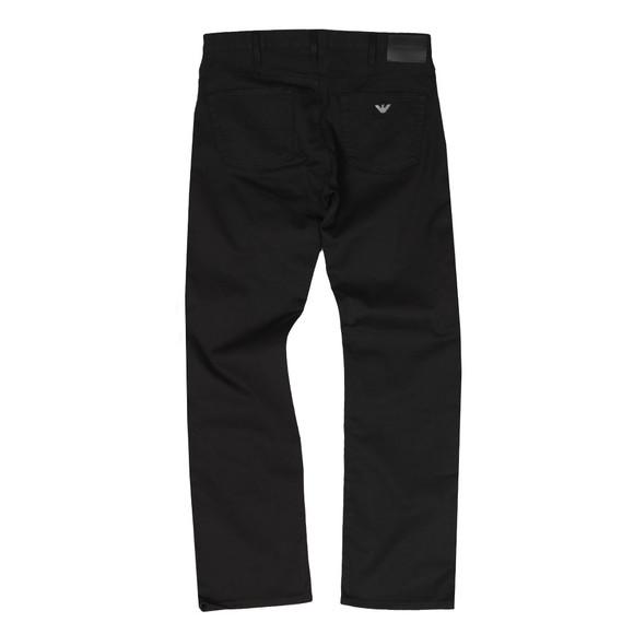 Emporio Armani Mens Black J21 Regular Fit Jean main image