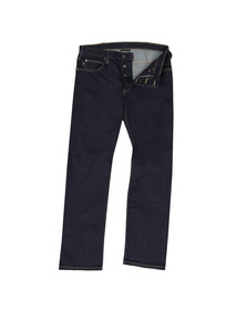 Emporio Armani Mens Blue J21 Regular Fit Jean