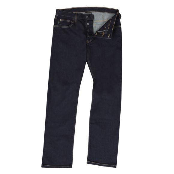 Emporio Armani Mens Blue J21 Regular Fit Jean
