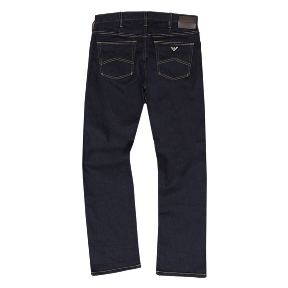 Emporio Armani Mens Blue J21 Regular Fit Jean main image