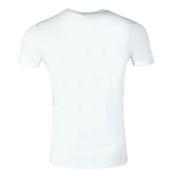 Emporio Armani Mens White Large Eagle Logo T Shirt main image