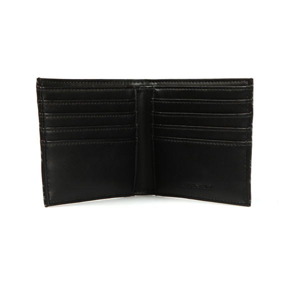 Emporio Armani Mens Black Allover Logo Wallet main image
